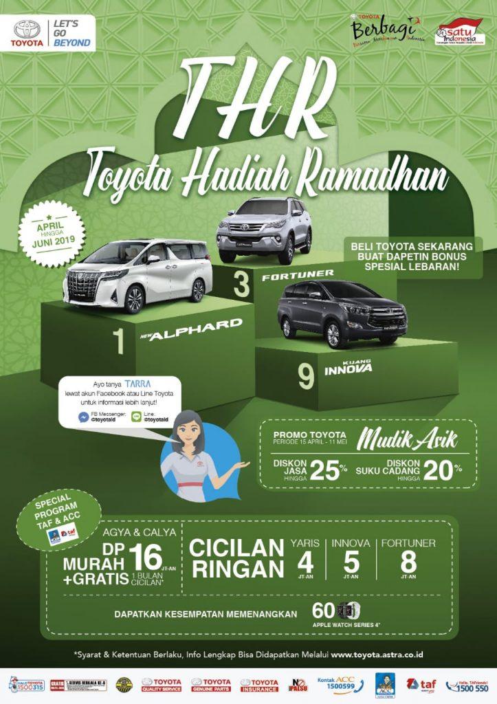 Promo Toyota Hadiah Ramadhan Di Toyota Solo