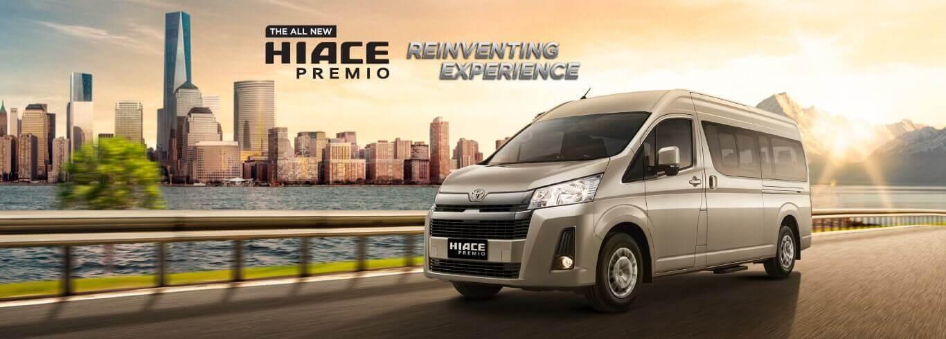 Harga Dan Spesifikasi Toyota New Hiace